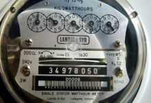 ساعة كهرباء