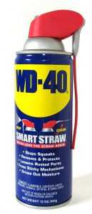 استخدامات مزيل الصدأ WD40