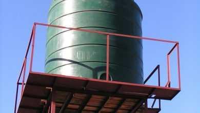 Photo of إصلاح خزان المياه الفيبر جلاس المثقوب أو المشروخ بشكل نهائي!