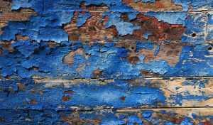 كشط دهان الخشب القديم
