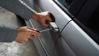 قفل سيارة