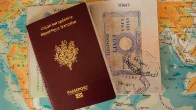 Visa Buffer Passport Customs Border