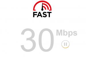 موقع FAST طريقة قياس سرعة النت الحقيقية