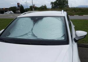 شمسية كيف تحمي سيارتك من الشمس
