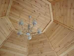 طريقة عمل سقف خشبي معلق