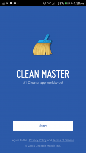 Clean Master تنظيف الجوال من الملفات